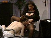 busty tiziana redford in black lingerie.