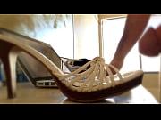 sexy heels need cum