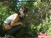 Woman Hidden Pee Outside Thumbnail
