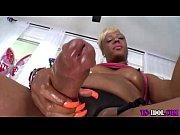 Black tgirl cums hard