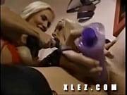 Vikki and Jenny - Some Strap-On Fun