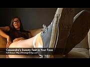 Cassandra'_s Sweaty Feet in Your Face - www.c4s.com/8983/14654887