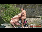 Granny and her husband fuck their grandaughter