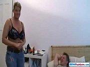 German Short Hair Chubby Mom