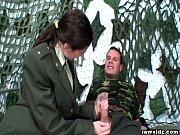 thumb Army Girl Sucks  Big Dicks