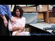 Latina teen gets facial