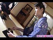 kimono clad suzuki chao gives a hot blowjob.