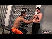 Sophie dee rides big black cock in gym