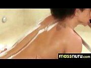 busty teen gives nuru sex massage.