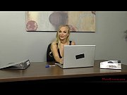 thumb European God dess Kayla Green Dominates Her Office Slave