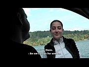 Bitch STOP - Real Czech hitchhiker Lenka fucked