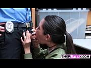 shoplifting teen choose cock over cops