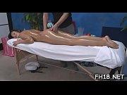 Gorgeous playgirl gets a hard fuck after a carnal massage
