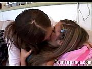 2 teenage try lesbian fucking for the first.