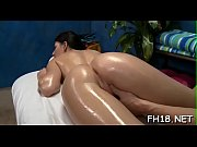 Beautiful all natural fucked by massagist