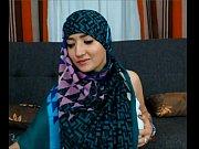 maleena a muslim hijabite shows off her nice.