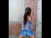 chilena bailando candy perreo