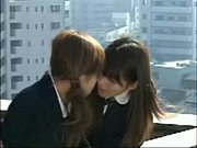 Hot Asian girls kissing