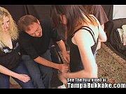 two teen girls tryout to be tampa bukkake.