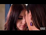 Hot Lesbians Frida Sante &amp_ Rebecca Volpetti Vs Double Dong