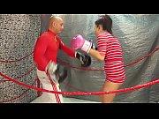 UNDERGROUND INTERGENDER WRESTLING PROMOTION Belly Punching Match Man vs Women