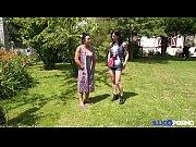 Belle cougar beurette de la campagne enculée en plein air [Full Video]