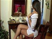 eve angel in short white dress.