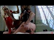 Busty mistress take man sex slave