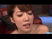 Makoto Yuukia ends with jizz on her nice lips and tits