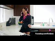 Black Tart Jenna Foxx Tongue Fucks Hottie Nickey Huntsman!'s Thumb