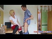German milf seduce to Fuck by 18yr old guy