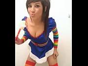 brunette teen julia stolen facebook pics