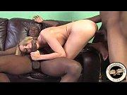 Evil blonde wife sucking huge black cocks