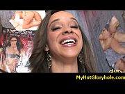 Interracial gloryhole amazing blowjob video 4