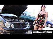 PAWG Milf Sara Jay Sucks &amp_ Fucks BBC Auto Mechanic