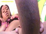 Sexy Ebony Sucks White Cocks