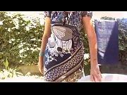 Video voyeur ragazza cicciottella ha un grosso diaper in giardino