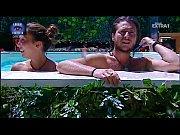 Angela Viviani pool topless @ Grande Fratello 13 (IT)
