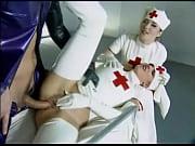 Latex kinky nurses enjoy hot hardcore sex