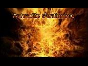 Clip Aphrodie s enflamme soumise BDSM bougie Thumbnail