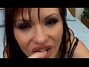 Sexy babe sucking cocks
