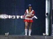 2005 10-31 wwe raw - divas halloween costume.