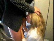 очень жестко блондинку трахнули и обкончали смотреть