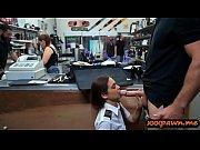 Sexy latin stewardess railed by pawn man