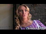 Teen Blonde Lexi Kartel makes her Cuckold watch her Fuck A Black Man