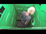 porta gloryhole blonde milf swallowing strangers.