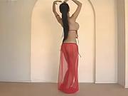 beautiful thai belly dancer