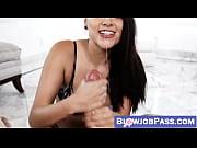 Cum eating vixen Zoey Foxx throat fucked in glorious POV