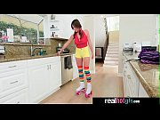 Ella Knox roller girl get a special treat on her pussy