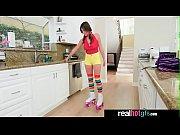 ella knox roller girl get a special treat.